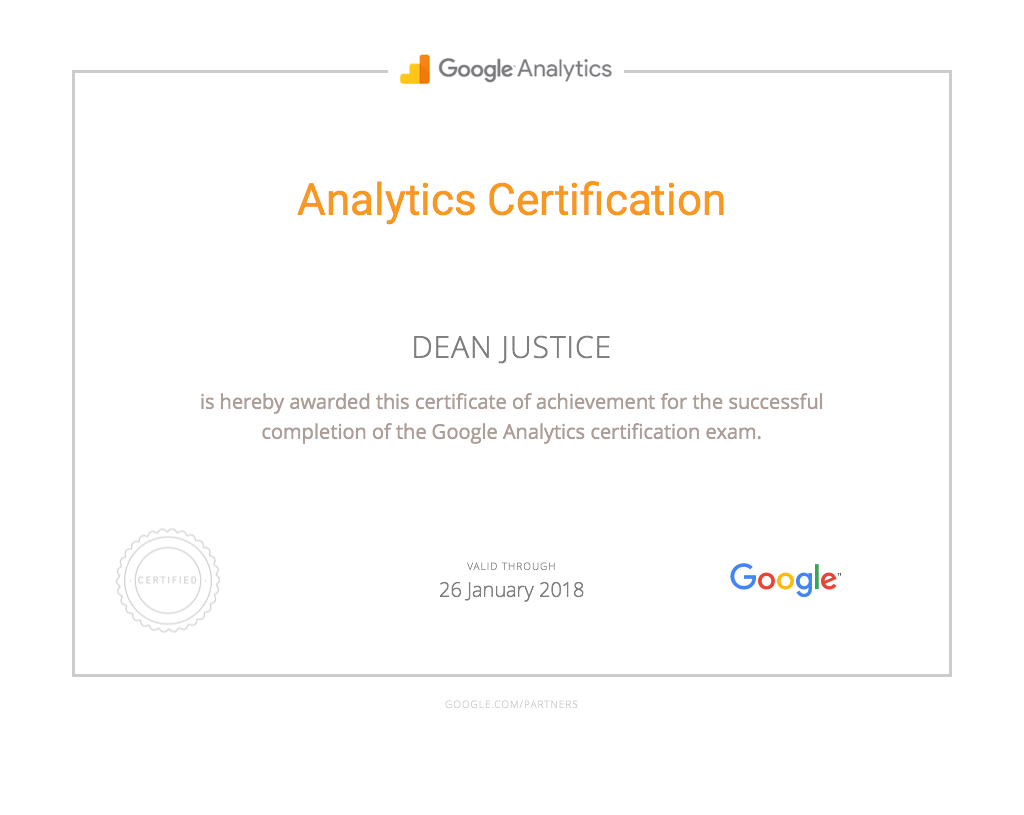 Analytics-Certification