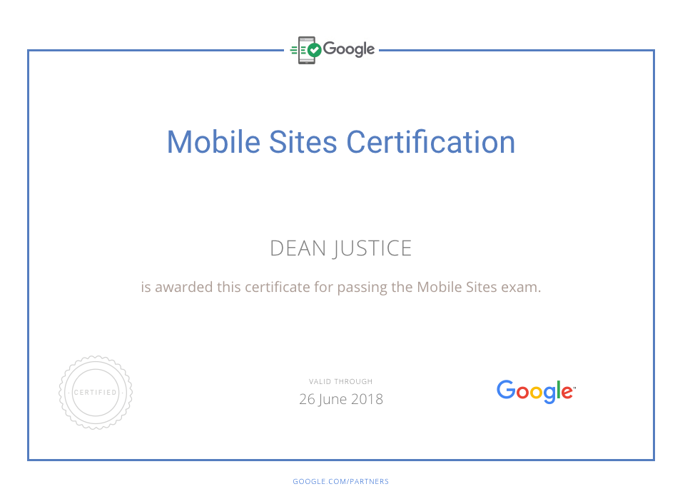 Mobiel-Site-Certification